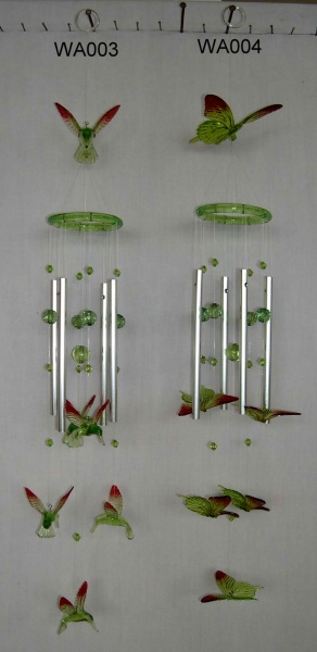 Arcylic wind chime