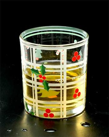 decal glass tumbler