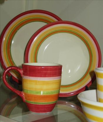 Earthenware Dinner set