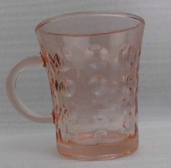 Colored beer mug