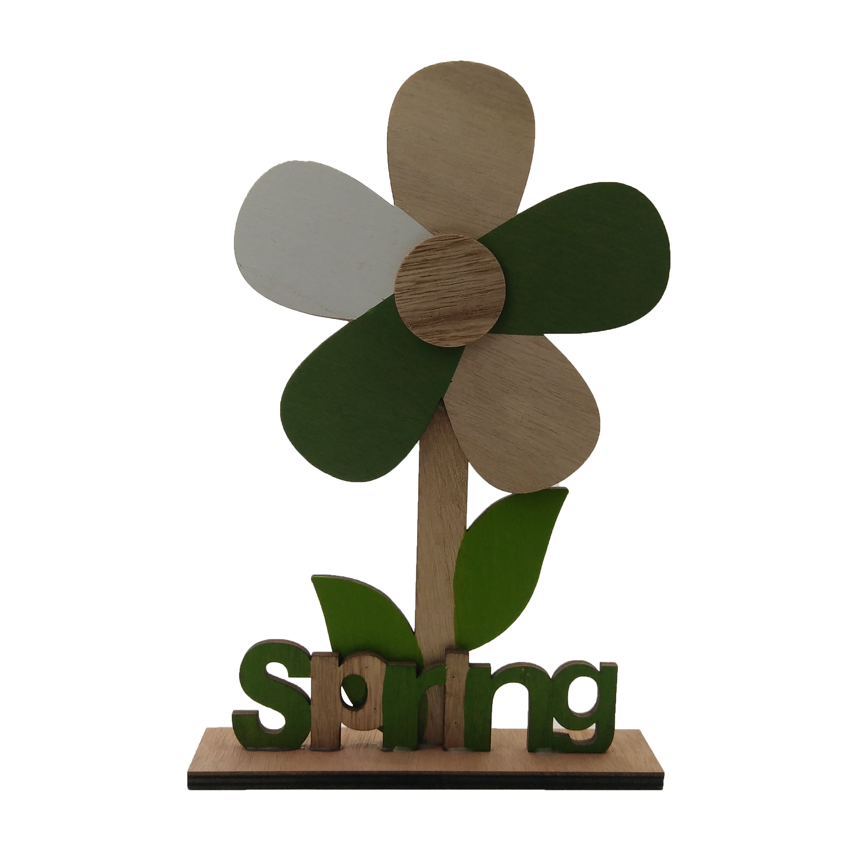 Sunflower Modeling Wood Decoration